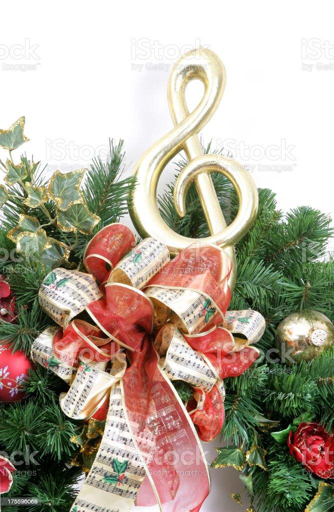 Wreath Series (on white) stock photo