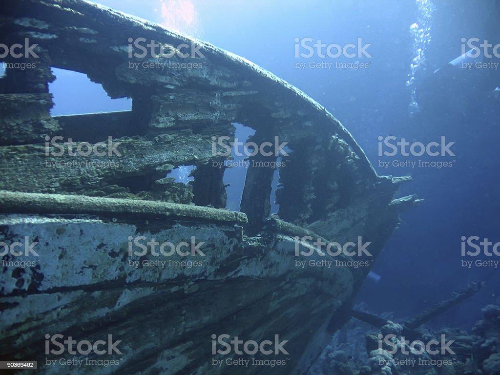 wreck royalty-free stock photo