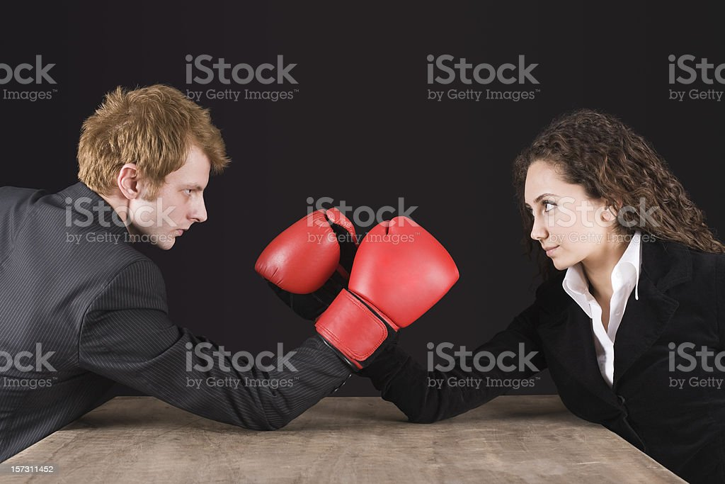 Wrestling series royalty-free stock photo
