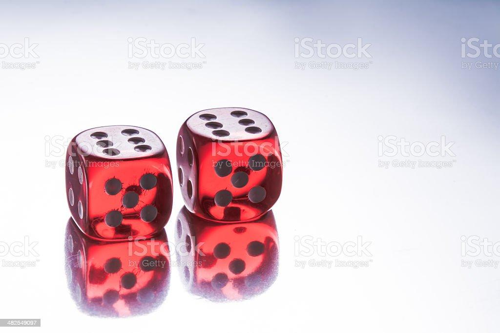 Würfel - Glücksspiel stock photo