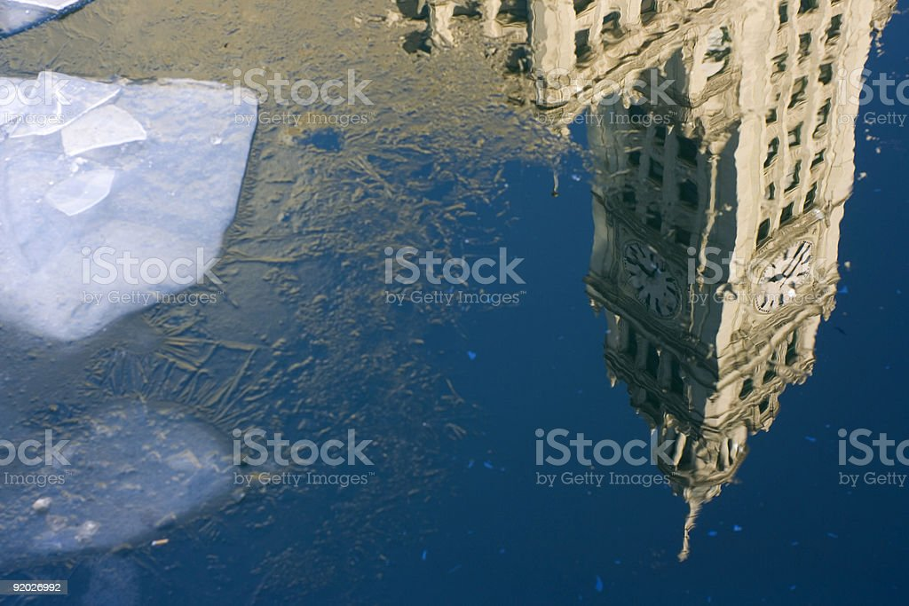 Wrigley Building in Chicago royalty-free stock photo