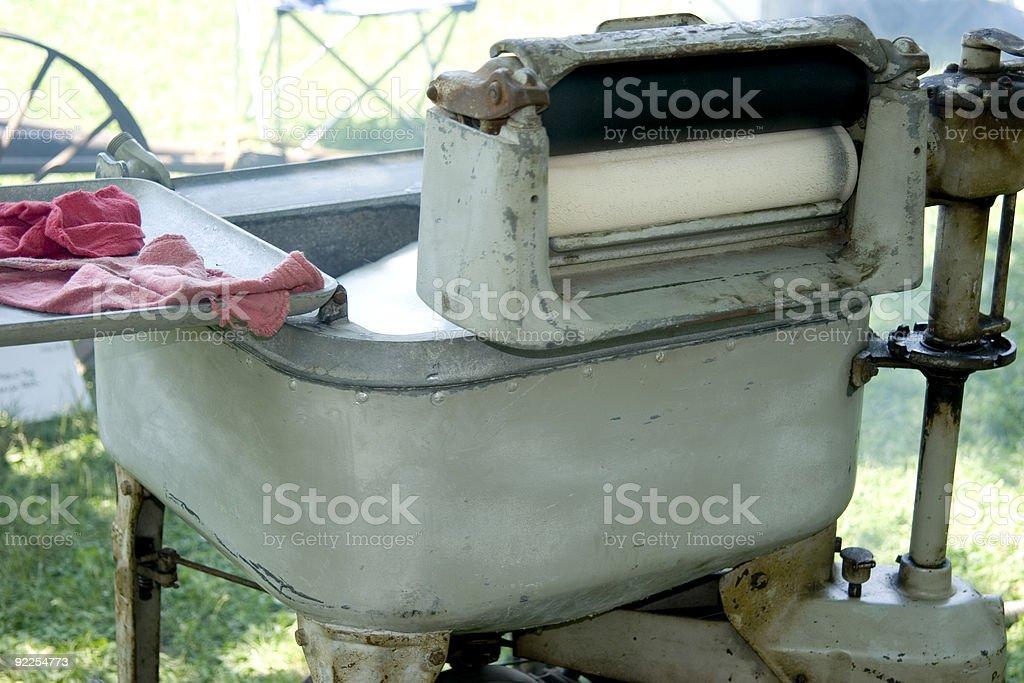 Wringer Washing Machine royalty-free stock photo