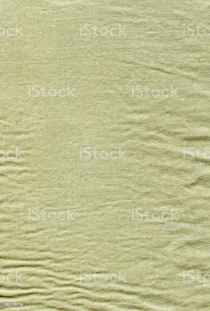 Wrinkled cotton texture royalty-free stock photo