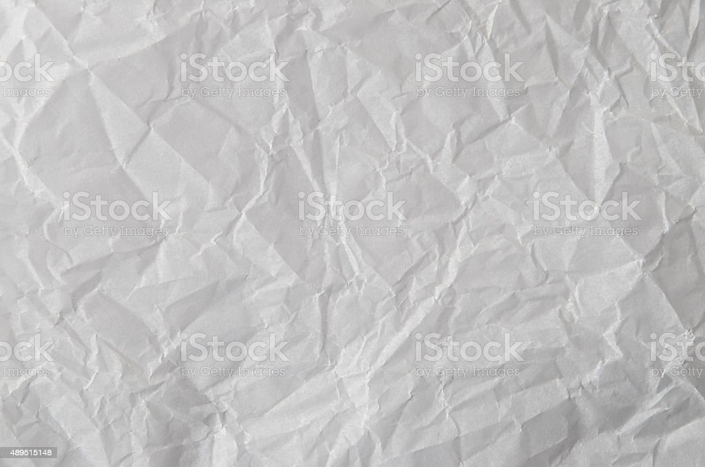 Wrinkled paper pattern texture background stock photo