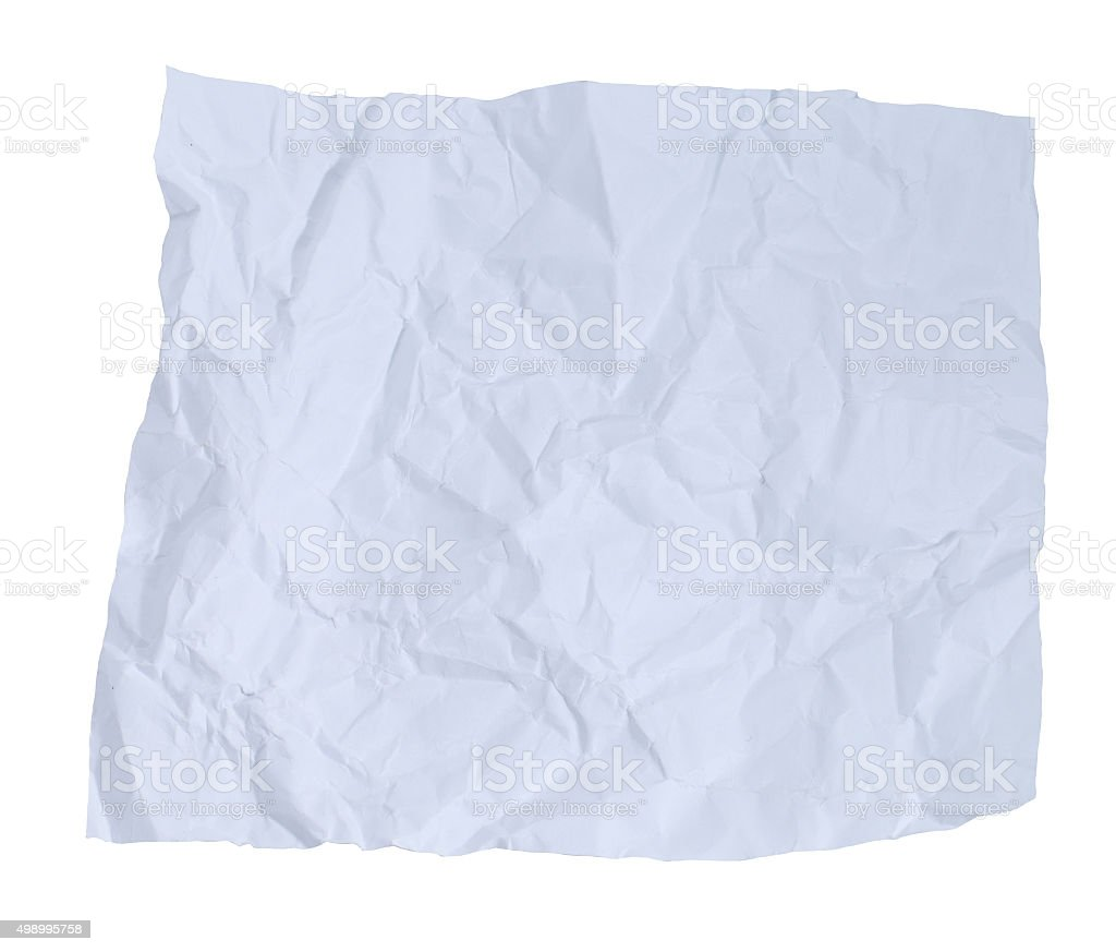 wrinkled paper texture or background stock photo