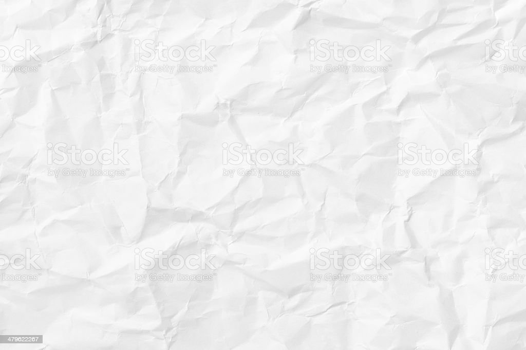 wrinkled paper texture stock photo