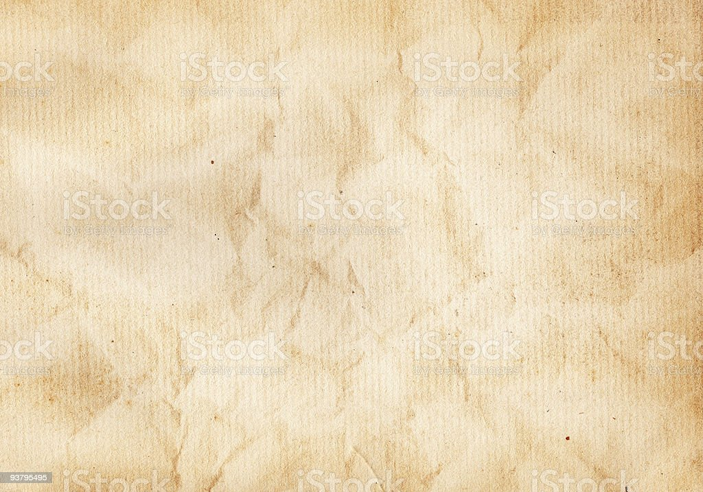 Wrinkled Paper XXL royalty-free stock photo