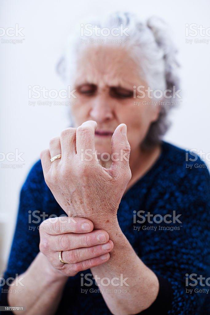 Wrist pain stock photo