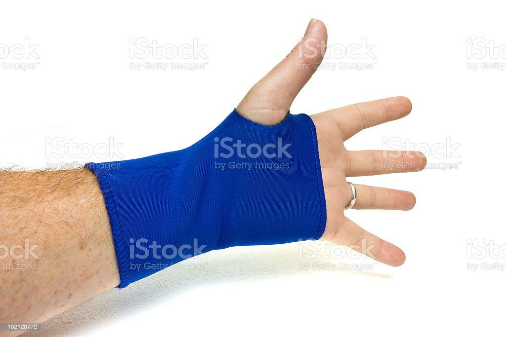 Wrist Support stock photo