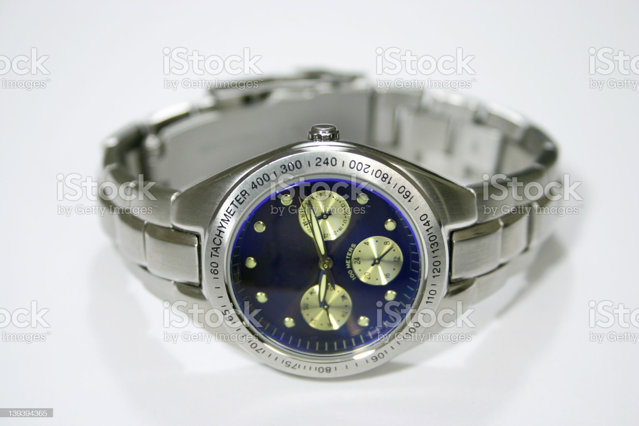 Wrist Watch Closeup royalty-free stock photo