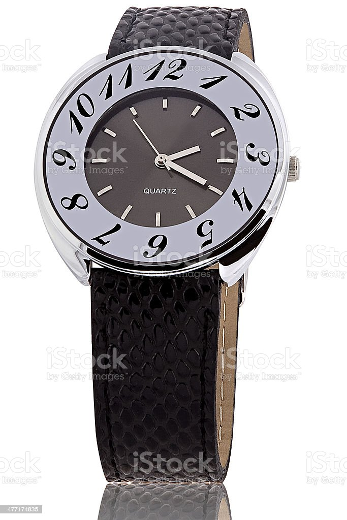 Wrist watch royalty-free stock photo
