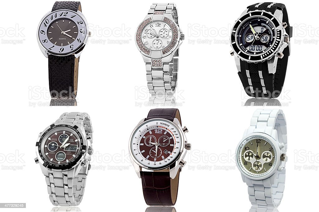 Wrist watch stock photo