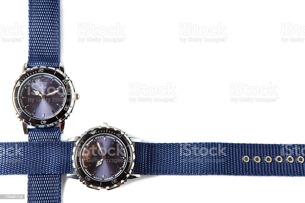 Wrist watches royalty-free stock photo
