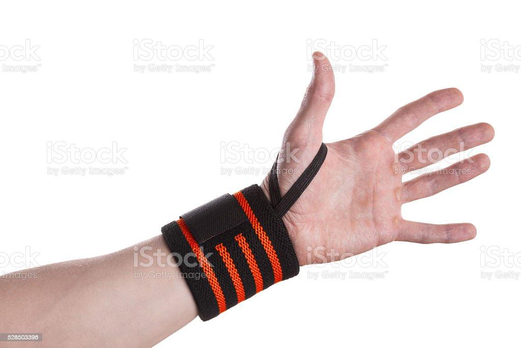 Wrist Wrap stock photo