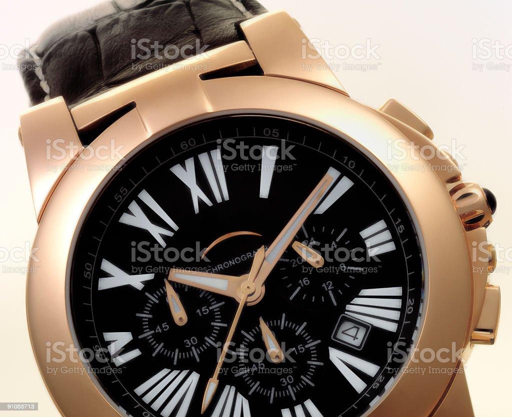 10.10 wristwatch stock photo