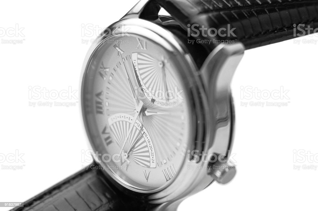 wristwatch royalty-free stock photo