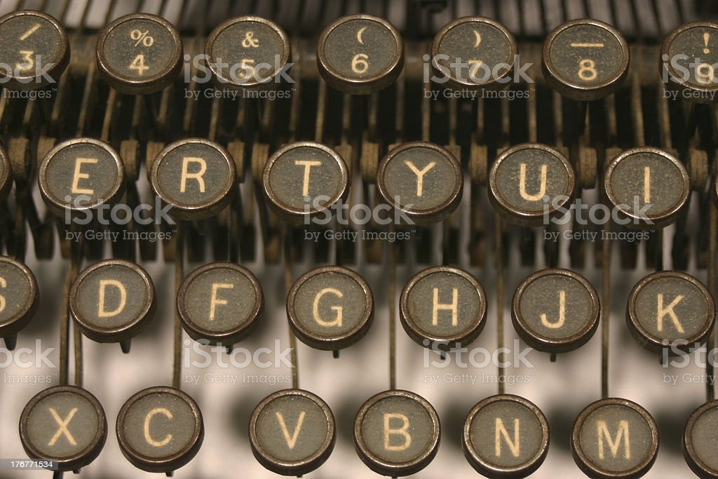 Write about it royalty-free stock photo