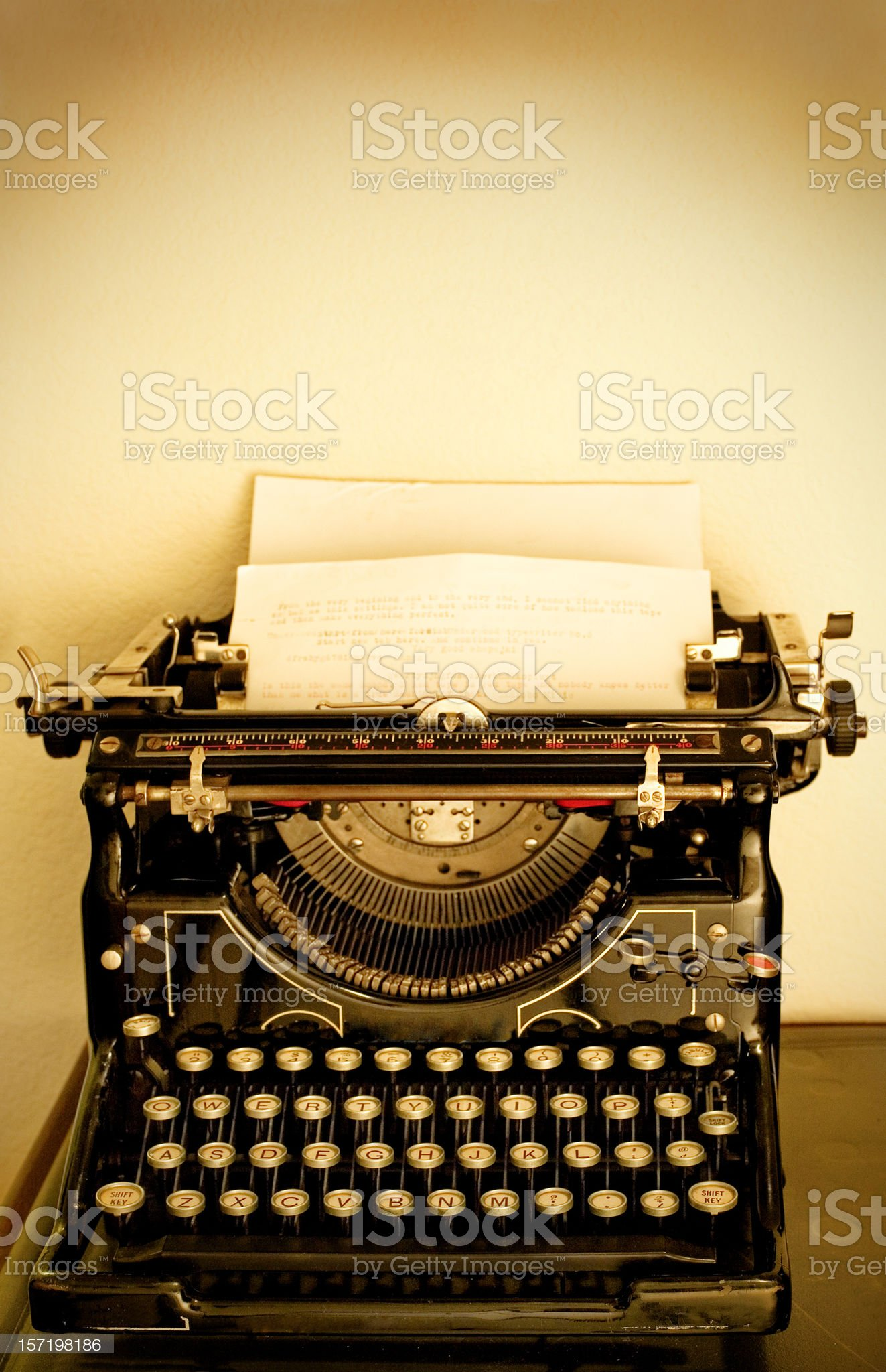 Write Me A Letter royalty-free stock photo