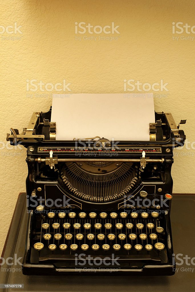 Write Me A Letter Two royalty-free stock photo