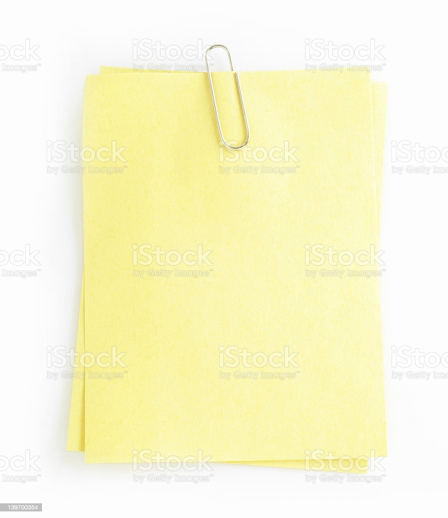 write note on it! royalty-free stock photo