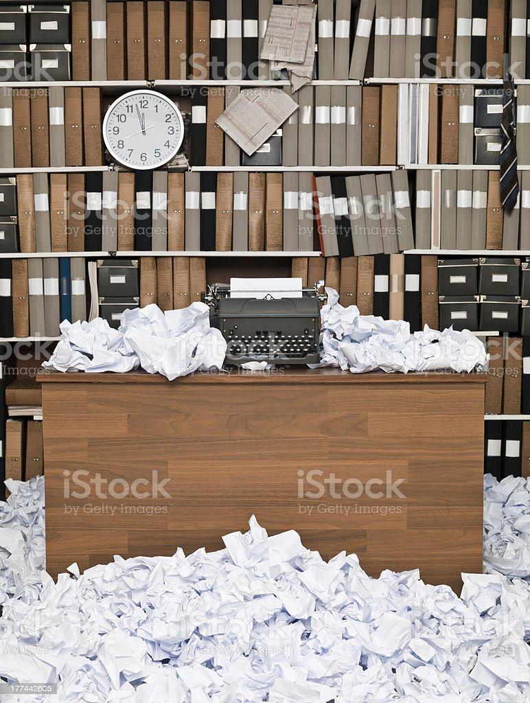 Writers cramp stock photo