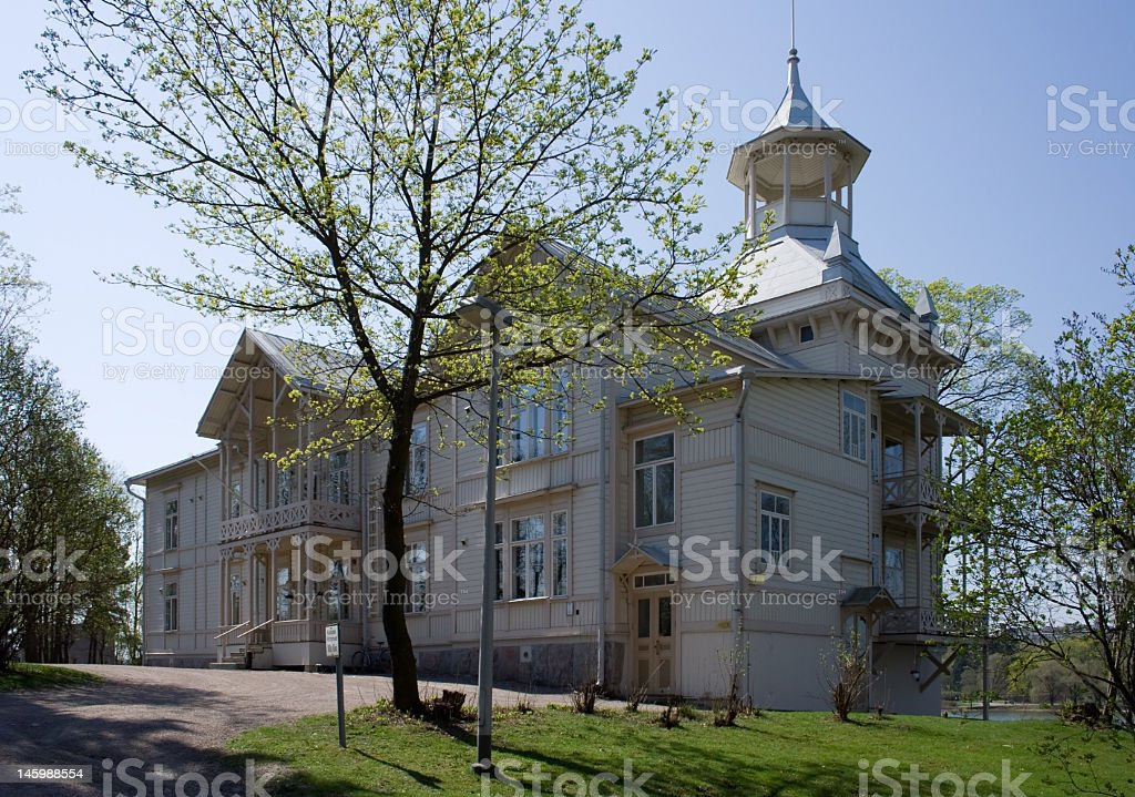 Writers' House in Helsinki royalty-free stock photo
