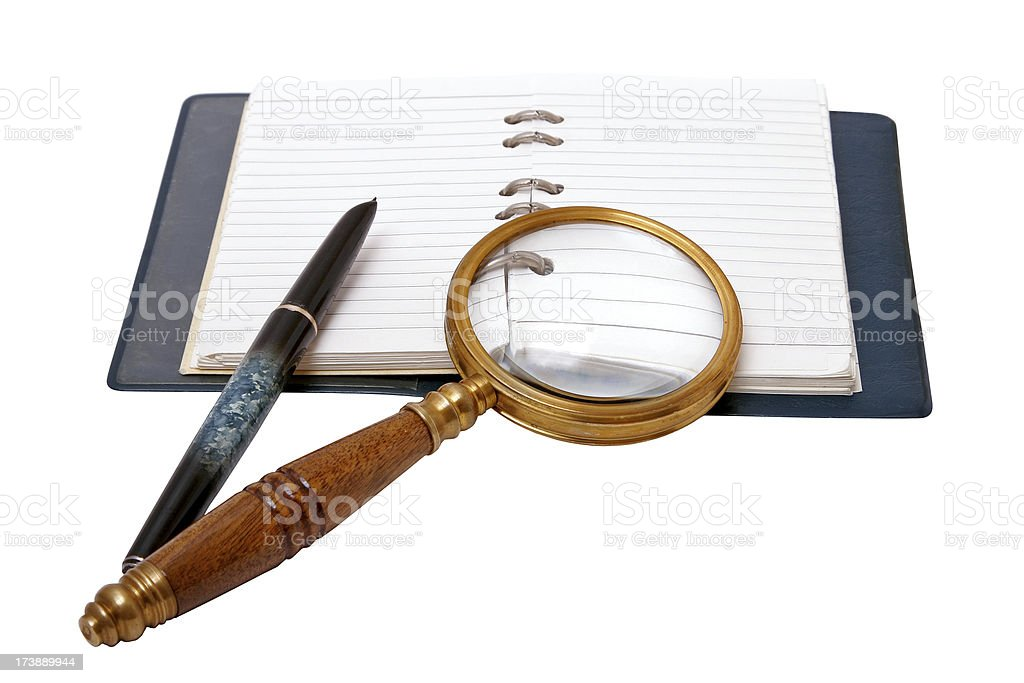 Writer's Kit royalty-free stock photo