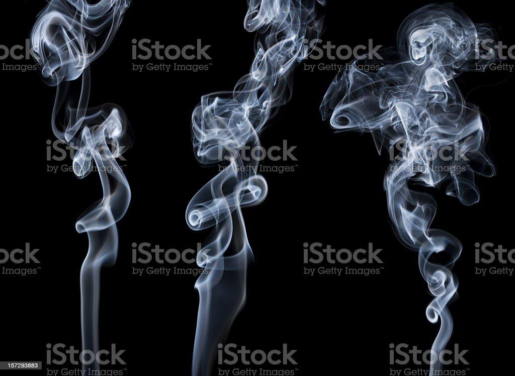 Writhing Smoke stock photo