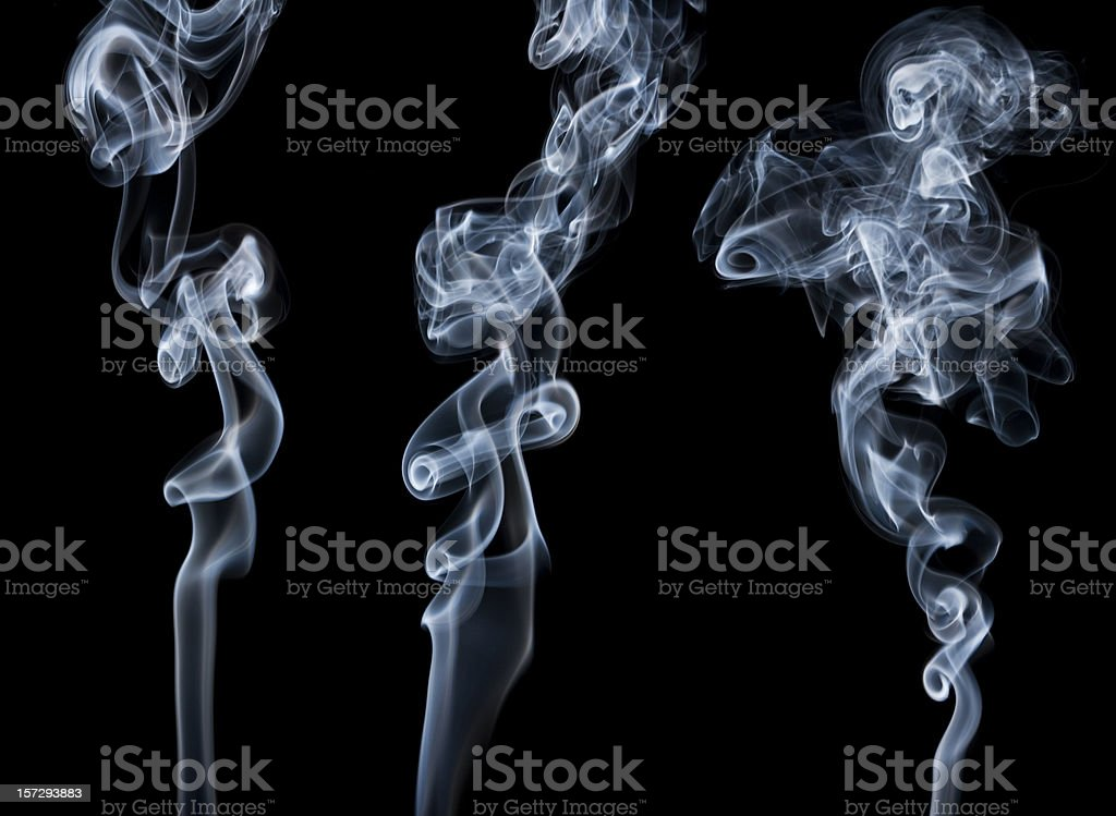 Writhing Smoke stock photo