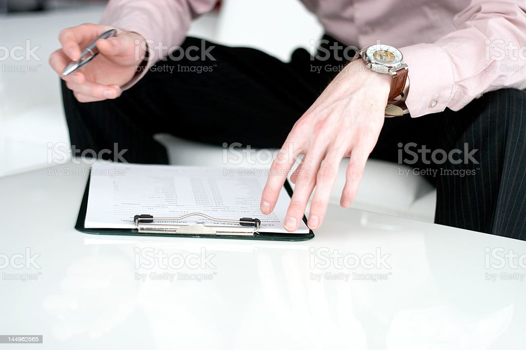 writing hands royalty-free stock photo