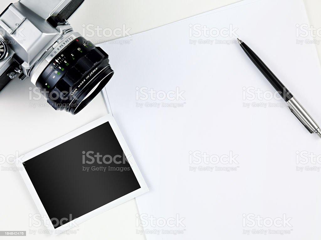 Writing Memories stock photo