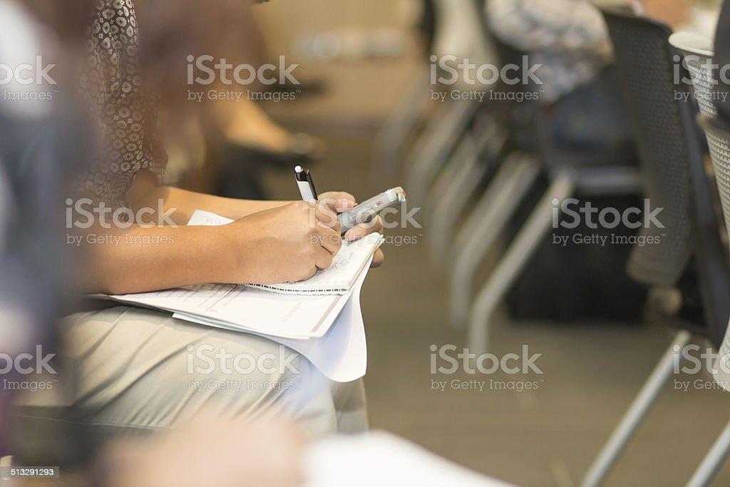 Writing. stock photo