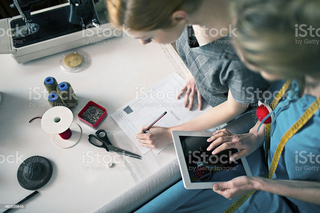 Writing the order royalty-free stock photo