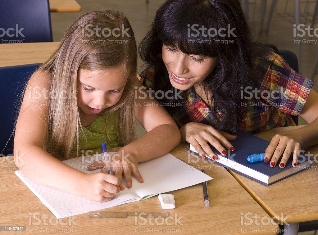 Writting stock photo