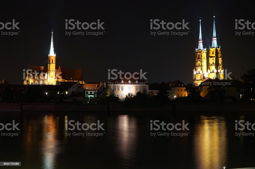 Wroclaw, Poland - European Capital of Culture 2016 stock photo