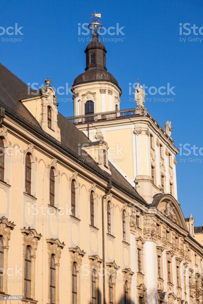 Wroclaw University building stock photo
