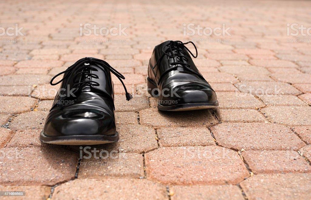 Wrong Foot stock photo