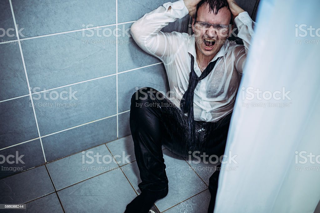 Wrong job stock photo