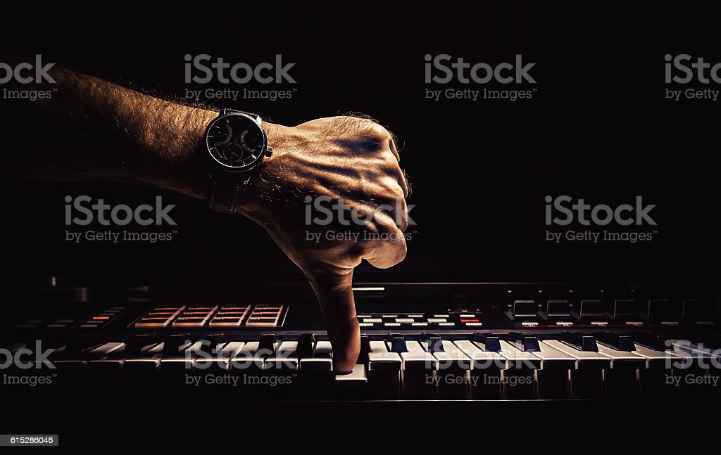 Wrong Tone stock photo