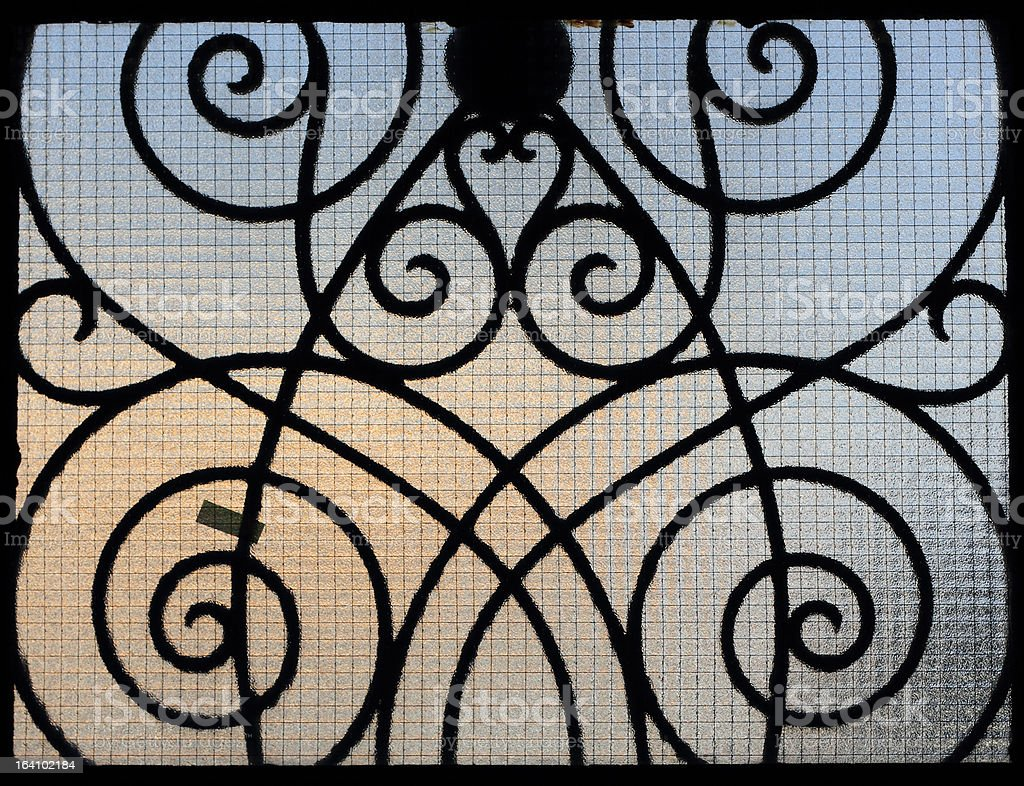 Wrought Iron royalty-free stock photo