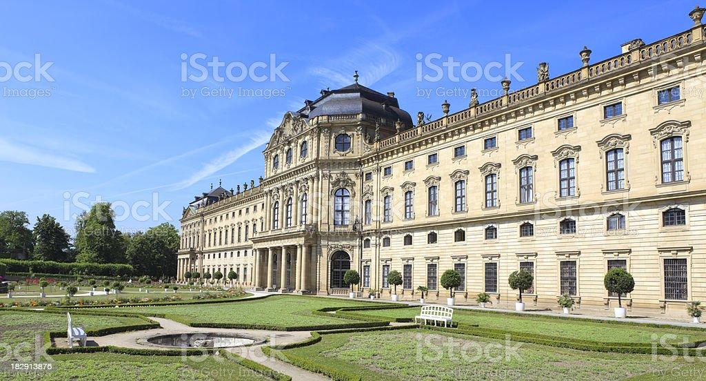 Würzburg Residence, Lower Franconia Bavaria Germany stock photo