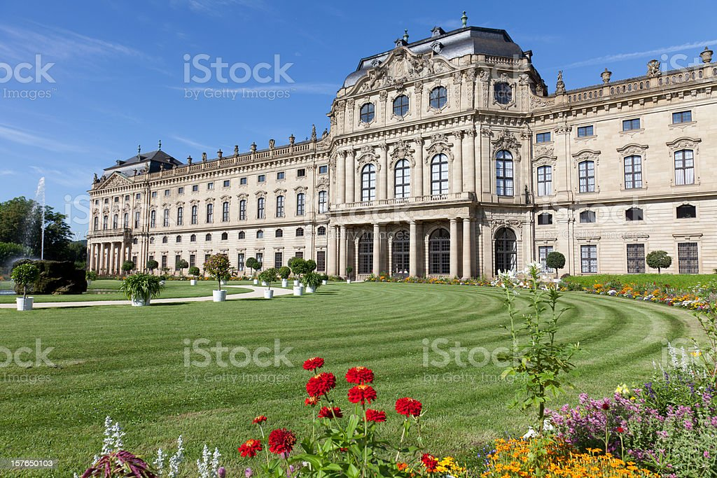 Würzburg Residenz stock photo