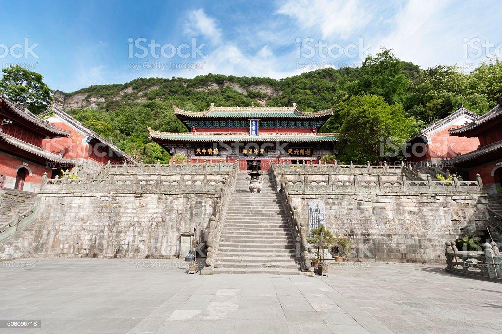 Wudang Mountain,Hubei province,China - East Asia, stock photo