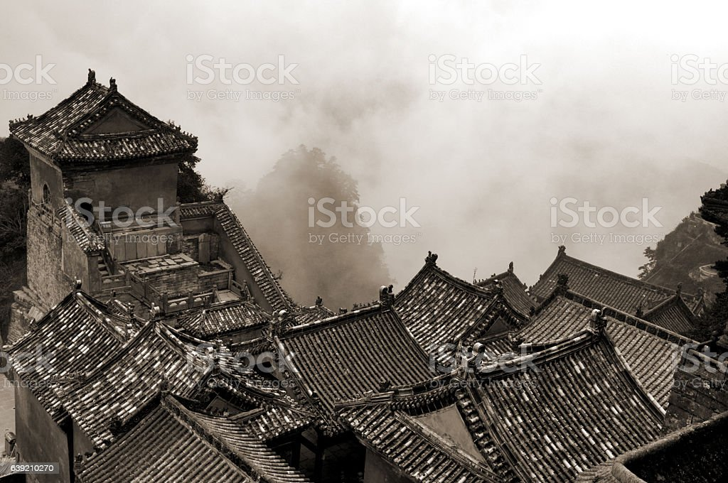 Wudang Temple stock photo