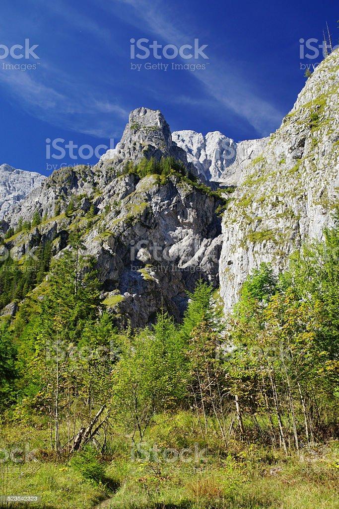 Wundersch?ne Alpen stock photo
