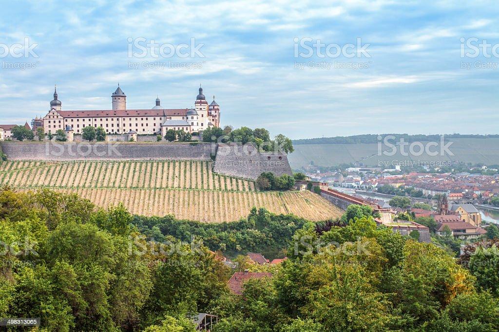 Würzburg-Festung Lizenzfreies stock-foto