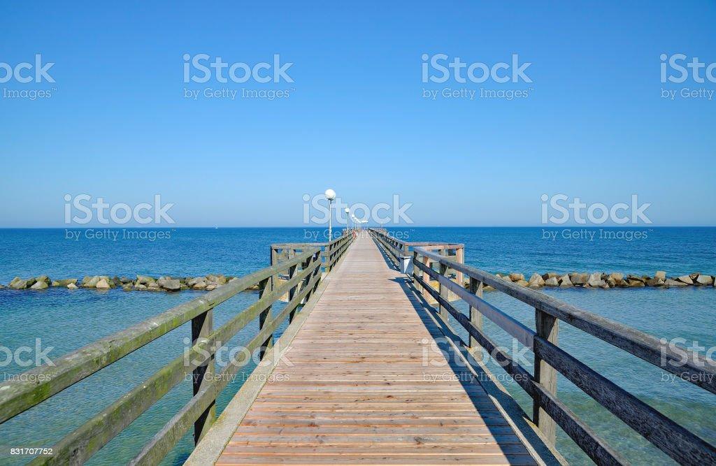 Wustrow,baltic Sea,Germany stock photo