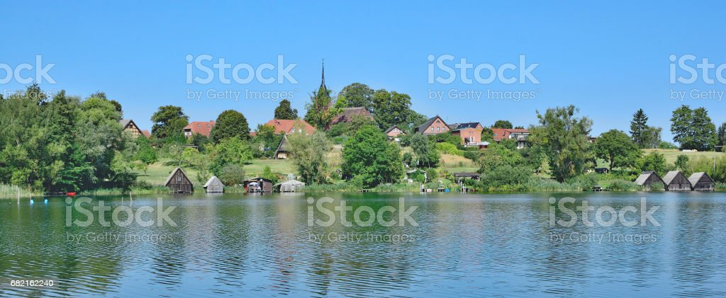 Wustrow,Mecklenburg Lake District,Germany stock photo