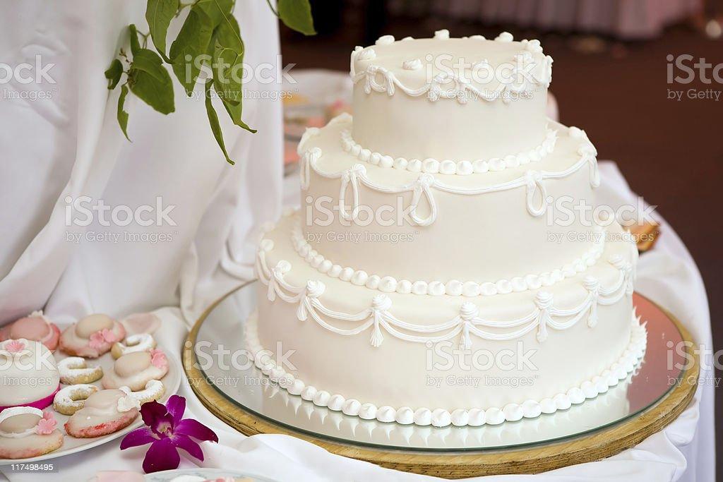 Wwedding cake royalty-free stock photo