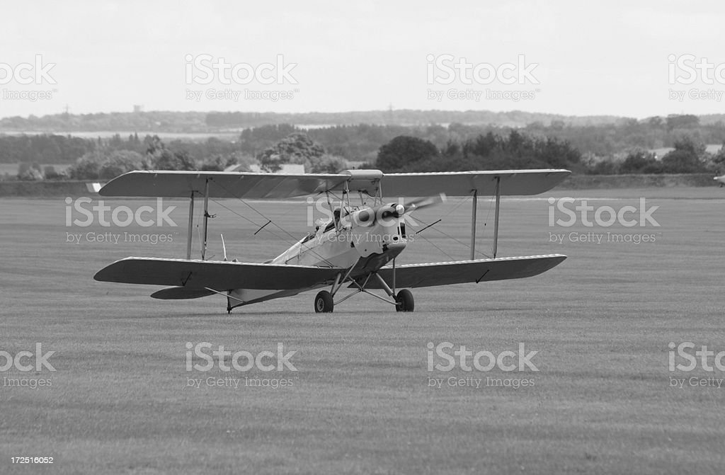 WWi Biplane. royalty-free stock photo